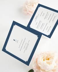 trifold wedding program paper border wedding programs wedding programs by shine