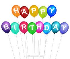 happy birthday balloons clip art 123freevectors