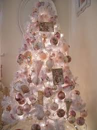 Shabby Chic Christmas Tree by 59 Best Shabby Chic Christmas Images On Pinterest Shabby Chic