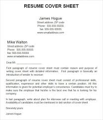 resume cover page exles of cover page for resume 28 images graduate resume and