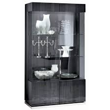 Curio Cabinets Under 200 00 Scandinavian Designs The Freemont Corner Display Unit Offers A