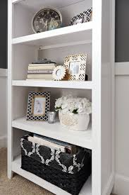 White Bookcase With Storage Best 25 Decorating A Bookcase Ideas On Pinterest Decorate