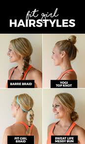 Cute Sporty Hairstyles Best 25 Gym Hairstyles Ideas On Pinterest Braided Ponytail