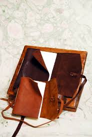 personalised leather and paper books riccardo luci