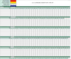 free excel schedule templates for makers employee work calendar