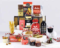 Christmas Basket Christmas Hampers Hampers Festive Christmas Hamper
