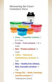 21 day fix container measurements more 21 day fix hacks on this