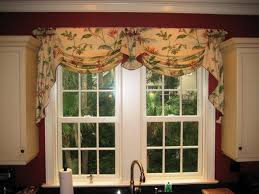 farmhouse country kitchen curtain valances u2014 joanne russo