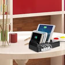 Charging Shelf Amazon Com Upow 8 Port Usb Charging Docks 68w 2 4a Max Desktop