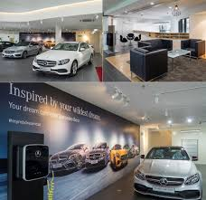 mercedes showroom interim mercedes benz autohaus opened by auto commerz motor