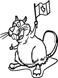 canada happy squirrel coloring page wecoloringpage