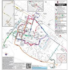 San Francisco Transportation Map by Marguerite Shuttle Stanford Parking U0026 Transportation Services