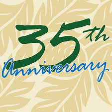 35 year anniversary 35th anniversary much to celebrate to earth organic and