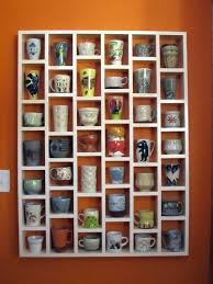 Glass Display Cabinet For Cafe 20 Diy Cup Holder Ideas Enhances The Feel And Look Of Your