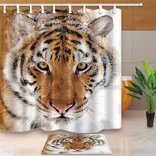 White Tiger Shower Curtain Best 25 Shower Curtain Sets Ideas On Pinterest Bathroom Shower