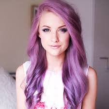 this is gorgeous hair i want to try some unnatural color sometime