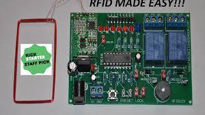 the rfid123 arduino compatible rfid reader decoder set by