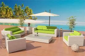 viro fiber sofa daybed set outdoor 7