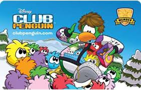 club penguin gift card disney club penguin logo images