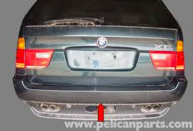 bmw x5 tail light removal bmw x5 rear bumper replacement e53 2000 2006 pelican parts diy