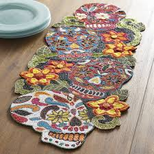Fall Table Runners by Dia De Los Muertos Table Runner 60 Pier 1 Fall 2016 Products