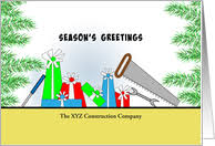 construction industry christmas cards from greeting card universe