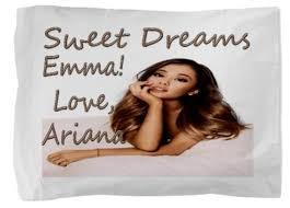 amazon com ariana grande kids personalized child u0027s pillowcase