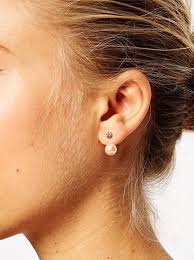 accessory du jour sided earrings dreaming in sequins