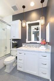 half bathroom designs half bathroom ideas gray bathroom brown wooden stool
