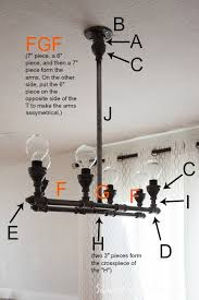how to make a fabulous plumbing pipe light fixture light