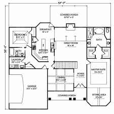 Brady Bunch House Floor Plan by European House Plans Cottage House Plans