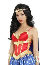 dc comics wonder woman lace up corset with detachable cape topic