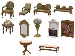 ts3 to ts4 regal living living room set updated for cats and
