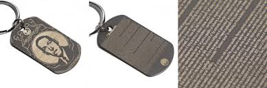 laser engraved dog tags to the future color laser engraved titanium dog tags moco loco
