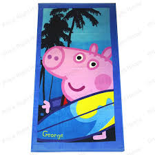 personalised peppa pig george pig vinyl wall art sticker any
