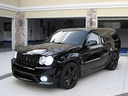 turbo jeep srt8 all blacked out jeep srt8 with hids cars pinterest jeep