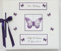 butterfly photo album wedding photograph albums carol miller designs wedding