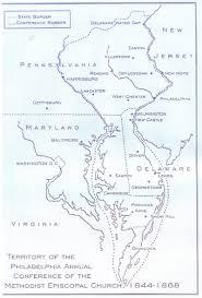Frost Line Map Philadelphia Conference Deacon Reverend Frost Pollitt