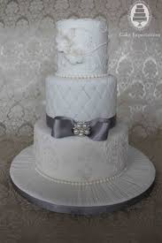 silver wedding cakes 12 with white and silver wedding cakes cakes photo white and