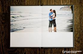 engagement photo book and signing guestbook by true photography