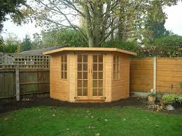 Garden Summer Houses Corner - corner buildings sheds makers of cheshire northwich