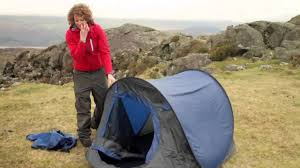 how to fold up a pop up tent youtube