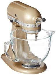 amazon com kitchenaid ksm155gbcz artisan design series glass bowl