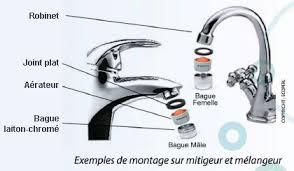 joint robinet cuisine comment enlever un robinet mitigeur de cuisine fiche pratique sur