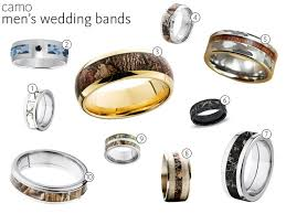 camo wedding bands his and hers camo wedding rings camo engagement rings