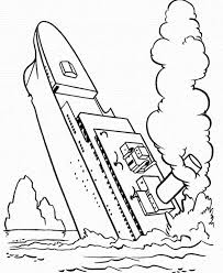 printable titanic coloring pages coloring