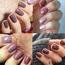 clavuz gel polish soak off uv led gel nail polish set 6pcs new