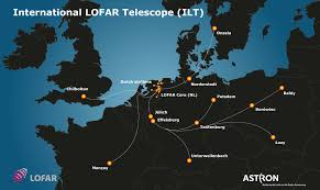 Germany On Map by Lofar Telescope To Extend Into Poland Ska Telescope