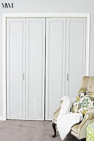 How To Build Bi Fold Closet Doors How To Update 1970 S Bi Fold Closet Doors Wants It