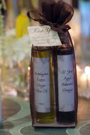 olive favors non traditional favor olive balsamic vinegar mini bottles